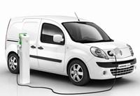 Renault Kangoo ZE, Renault, plug-in vans.