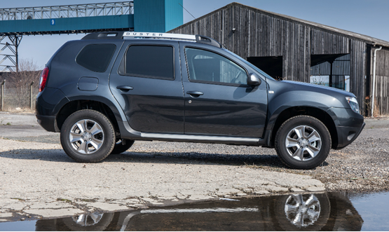 first drive dacia duster commercial laureate dci van review small vans. Black Bedroom Furniture Sets. Home Design Ideas