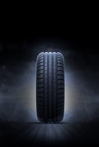 Tyre stock image