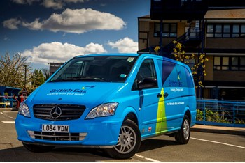Mercedes-Benz Vito E-Cells join British Gas fleet