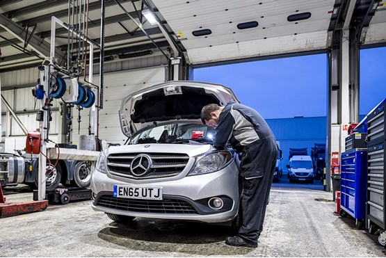Mercedes benz vans will support fleets with new 39 winter for Mercedes benz winter event commercial