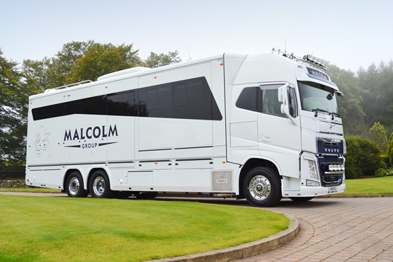 Malcolm Group Ceo Invests In Volvo Horsebox Truck News
