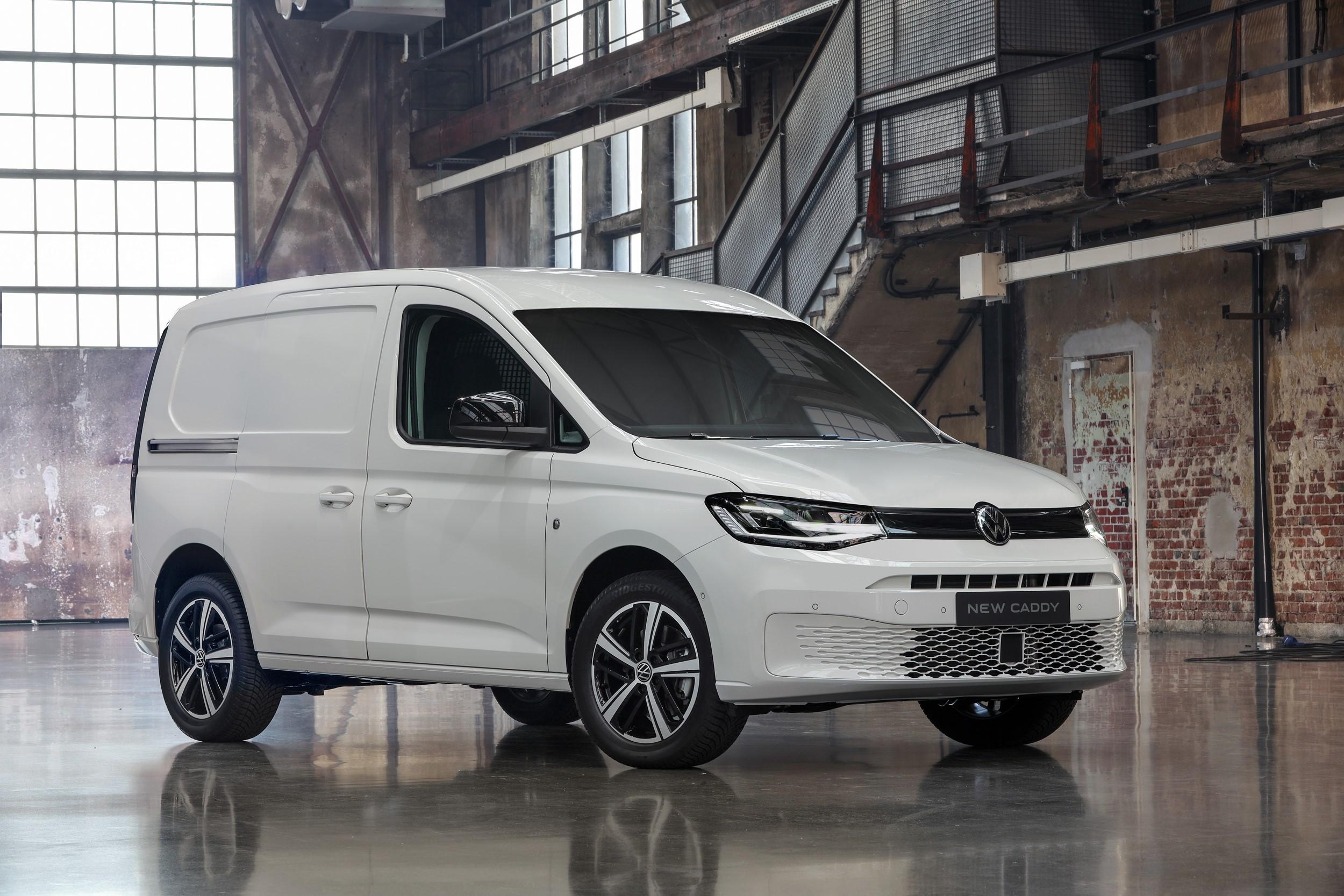 Vw Reveals All New Caddy Van News