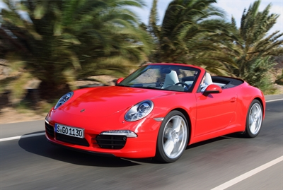 The new Porsche 911 Carrera Cabriolet