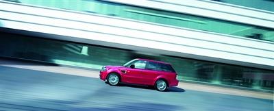 Range Rover Sport HSE Red