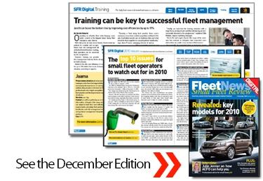 December 2009 Small Fleet Review