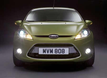 Ford Fiesta front (2008)