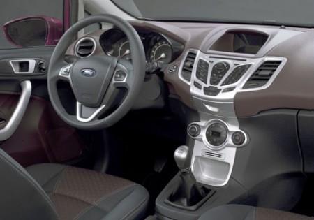 Ford Fiesta dash (2008)