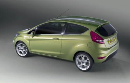 Ford Fiesta rear (2008)