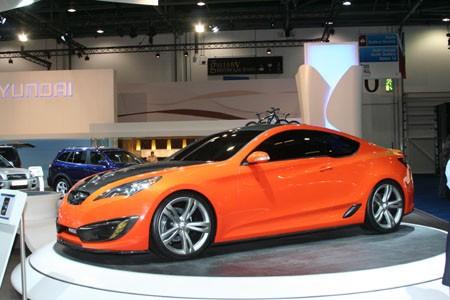 2008 Hyundai Genesis Coupe Concept