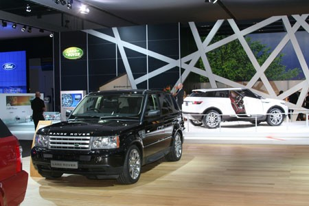 BIMS Land Rover stand