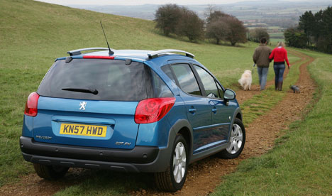 Peugeot's 207 SW Outdoor