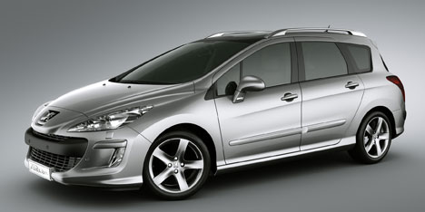 Peugeot 308 SW – on sale May