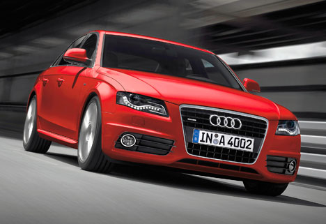 Audi A4 – on sale March