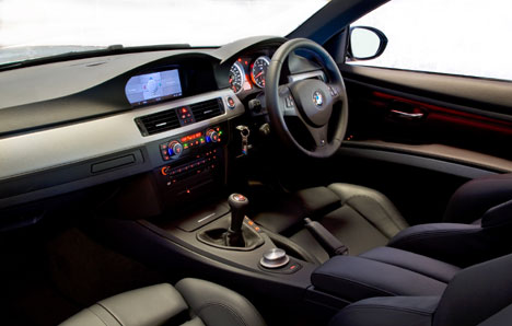BMW M3 Coupe interior