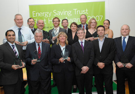 The Green Fleet Hero Award winners