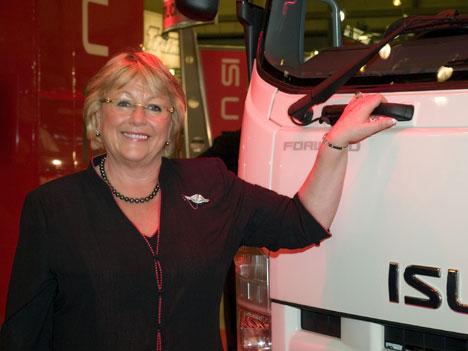 Isuzu Truck UK md Nikki King