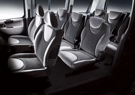 Fiat Scudo Panorama interior