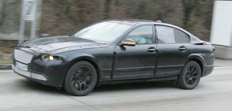 BMW keeps its new 5 Series under wraps