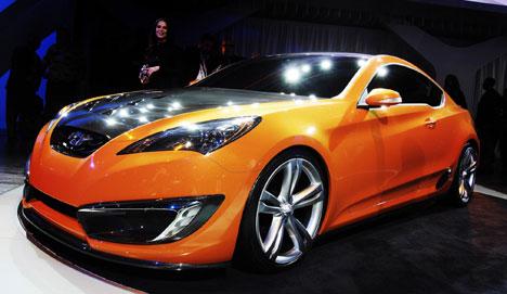Hyundai Concept Genesis Coupe