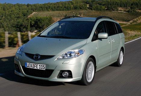 The revised Mazda5