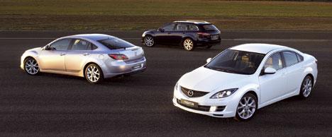 The Mazda6 family