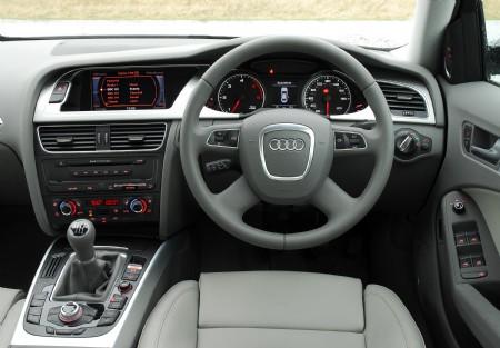 2008 Audi A4 dash