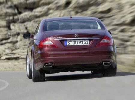Mercedes-Benz CLS 2008 rear
