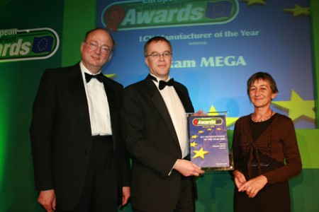 Aixam Mega named European Light Commercial Manufacturer of the Year at the European GreenFleet Awards in 2008