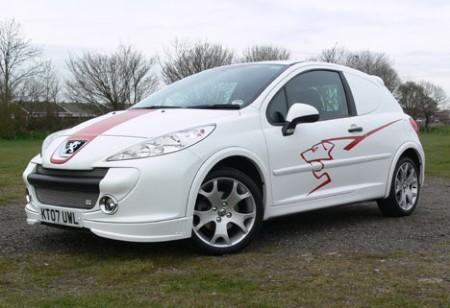 2008 Peugeot 207 Sport Van