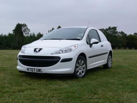 2008 Peugeot 207 van
