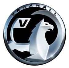 The redesigned Vauxhall badge