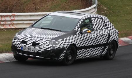 2008 spyshot: Vauxhall Astra